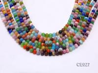 Wholesale 6mm Round Colorful Cat's Eye Beads Loose String CE027