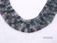 Wholesale 8mm Cubic Multi-color Fluorite Beads Loose String GFL045