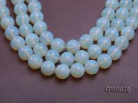 Wholesale 20mm Round Milky Moonstone Beads Loose String GMS026