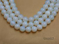 Wholesale 16m Round Milky Moonstone Beads Loose String GMS027