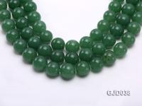 Wholesale 16.5mm Round Green Aventurine Beads Loose String GJD038