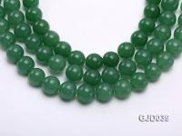 Wholesale 14mm Round Green Aventurine Beads Loose String GJD039