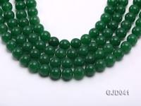 Wholesale 12mm Round Green Malay Jade Beads Loose String GJD041