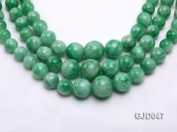 Wholesale 6-14mm Round Korean Jade String GJD047