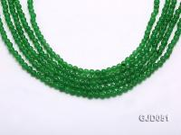 Wholesale 4mm Round Malay Jade String GJD051