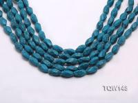 Wholesale 8x16mm Oval Blue Turquoise Beads Loose String TQW148