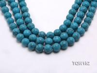 Wholesale 16mm Round Blue Turquoise Beads Loose String TQW152