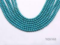 Wholesale 6mm Round Blue Turquoise Beads Loose String TQW153