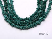 Wholesale 8x6mm Irregular Green Turquoise Pieces Loose String TQW155