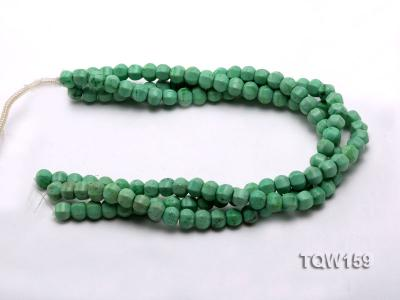 Wholesale 9x10mm Irregular Green Turquoise Beads Loose String TQW159 Image 3