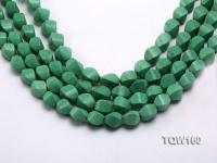Wholesale 10x16mm Irregular Green Turquoise Beads Loose String TQW160