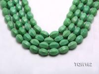 Wholesale 13x18mm Irregular Green Turquoise Beads Loose String TQW162