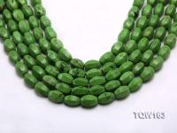 Wholesale 10x15mm Irregular Green Turquoise Beads Loose String TQW163