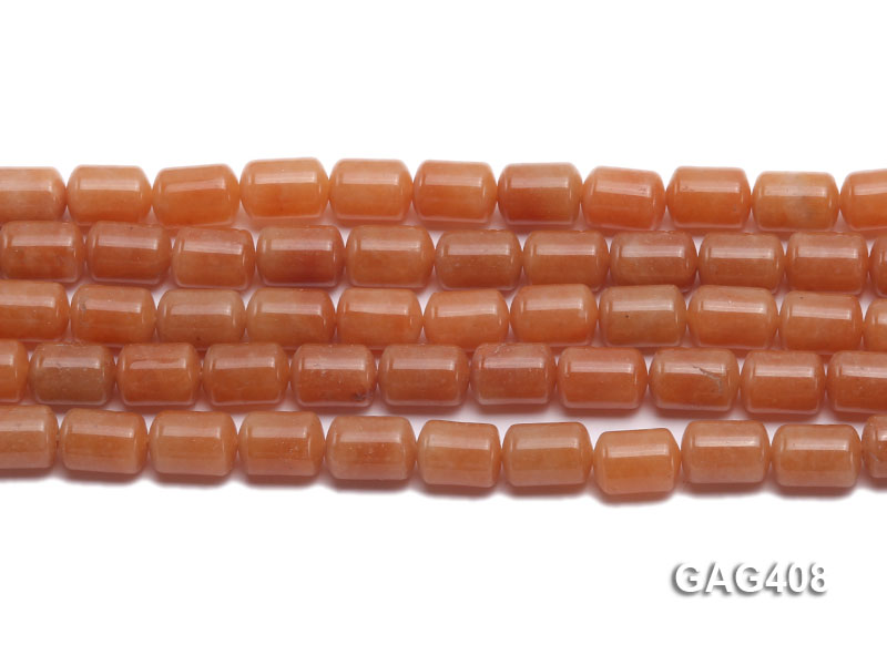 Wholesale 8x11mm Cylinder-shaped Agate Beads String  big Image 2