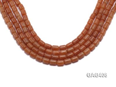 Wholesale 8x11mm Cylinder-shaped Agate Beads String  GAG408 Image 1