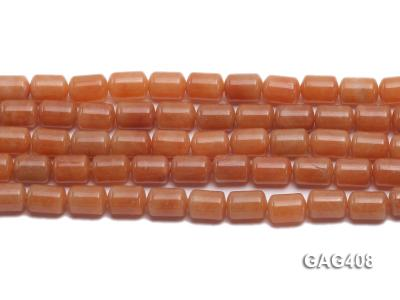 Wholesale 8x11mm Cylinder-shaped Agate Beads String  GAG408 Image 2