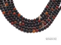 Wholesale 12mm Round Agate Beads String  GAG412