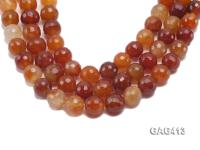 Wholesale 19mm Round Faceted Agate Beads String  GAG413