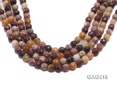 Wholesale 10mm Round Faceted Agate Beads String  GAG415 Image 1