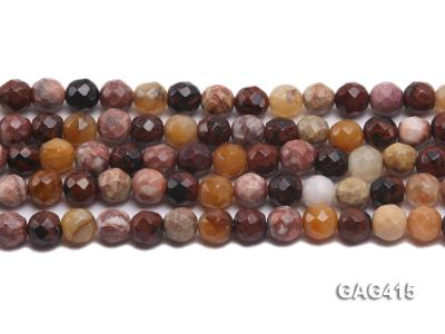 Wholesale 10mm Round Faceted Agate Beads String  GAG415 Image 2
