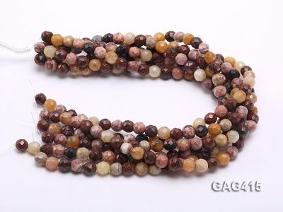 Wholesale 10mm Round Faceted Agate Beads String  GAG415 Image 3
