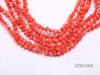 Wholesale 6mm Cubic Pink Coral Beads Loose String CRW150