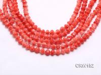 Wholesale 6x8mm Irregular Orange Coral Beads Loose String CRW152