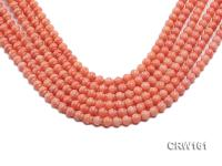 Wholesale 7mm Lantern-shaped Pink Coral Beads Loose String CRW161