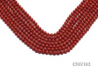 Wholesale 6mm Lantern-shaped Red Coral Beads Loose String CRW163