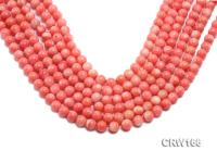 Wholesale 8mm Round Pink Coral Beads Loose String CRW166