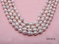 11-13.5mm White Baroque Pearl String OIP073