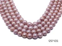 12.5-16mm Lavender Edison Pearl String OIP135