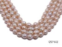 12-16mm Pink Irregular Pearl String OIP149