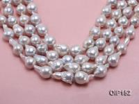 14-16mm White Irregular Pearl String OIP152