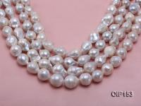 15-18mm White Irregular Pearl String OIP153