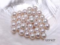 13-14mm White Round Loose Edison Pearl  EDP027