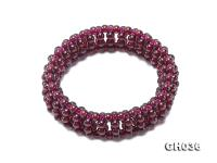 4mm High Quality Natural Garnet Bracelet  GH036
