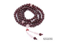 8mm High Quality Natural Garnet Bracelet  GH039