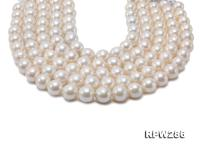 Wholesale 14-16mm Super Big White Round Edison Pearl String RPW286