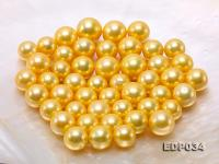 11.5-15.5mm Golden Loose Edison Pearls EDP034