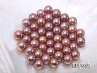 Mysterious Rich Lavender 12-13mm Edison Pearls  EDP039
