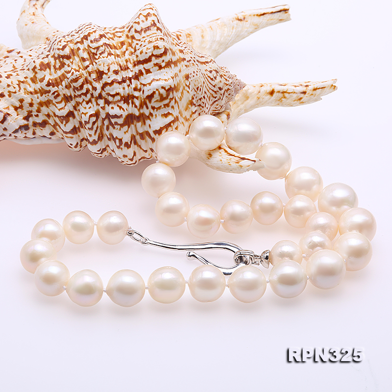 Incredibly Huge 13-16mm White Edison Pearl Necklace big Image 5