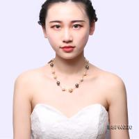 Magnificent 9.5-13.5mm Multicolor South Sea White Pearl, Golden Pearl & Tahitian Pearl Necklace SSPN020