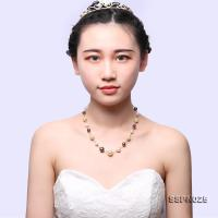 Gorgeous 8.5-13.5mm Multicolor Golden South Sea Pearl, Tahitian Pearl & White Akoya Pearl Necklace SSPN025