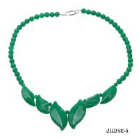 Beautiful Korean Jade Necklace  JN019-1