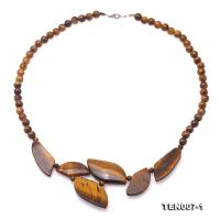 Beautiful Natural Tiger Eye Necklace TEN007-1