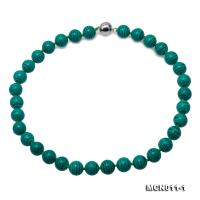 Beautiful 12mm Malachite Necklace MCN011-1